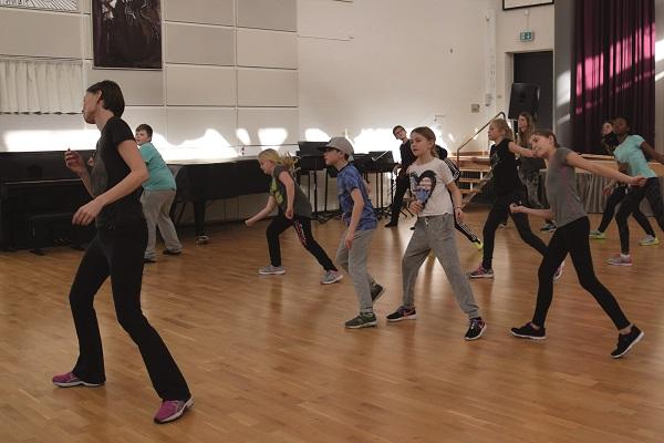 Billede fra tidligere danseworkshop