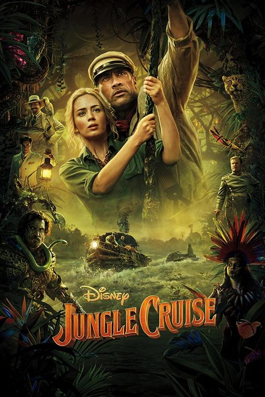 Jungle Cruise plakat